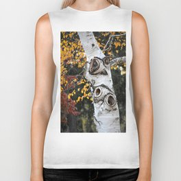 The Owl Tree Biker Tank