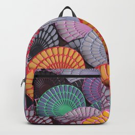 Classical Colourful Pattern Backpack