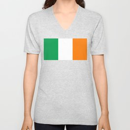 Flag of Ireland, High Quality Image Unisex V-Neck