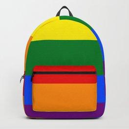 Pride rainbow flag Backpack