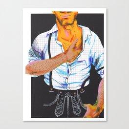 Pappkameraden: Anton Canvas Print