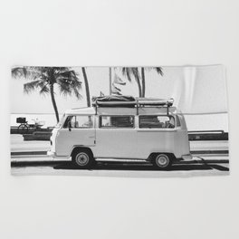 Retro Van Beach Towel