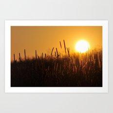 Apollo Sunset Art Print