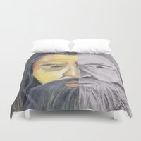 gandalf Duvet Covers featuring Gandalf   by RidnelSilva
