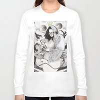 hiphop Long Sleeve T-shirts featuring Holy Mother of HipHop Blessed Be Thy Beats. by Kamau Mshale