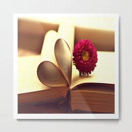 Libro de amor Metal Print