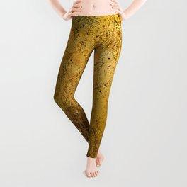 Gold texture Leggings
