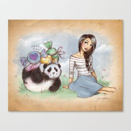 White Day Canvas Print