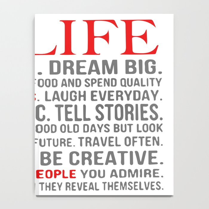All about life Notebook