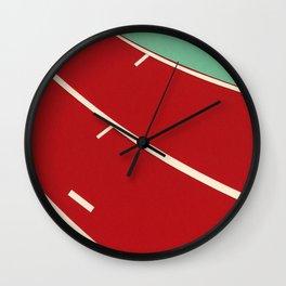 Running Track Wall Clock