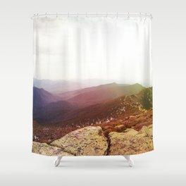 rainbow ridge Shower Curtain