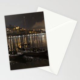BOATS ON THE RIVER Stationery Cards