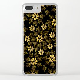 pattern 107 Clear iPhone Case