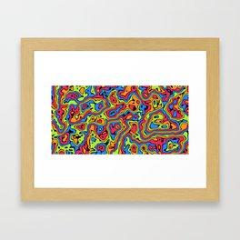 Liquid Summer Framed Art Print