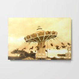 Flying Swing Metal Print
