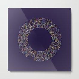 Generative Splines 1 Metal Print