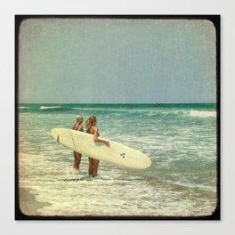 Girls of summer Canvas Print