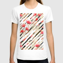 Poppy Pattern 06 T-shirt