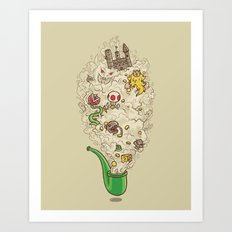Pipe Dream Art Print