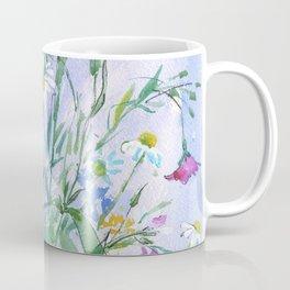 Meadow flowers - watercolor painting Coffee Mug