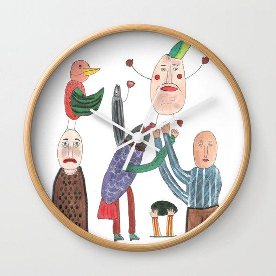 Crazy Egg. Wall Clock