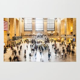 Grand Central Station New York City Rug