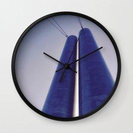 Soleri Bridge Wall Clock