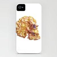 60. Flower Skull iPhone (4, 4s) Slim Case