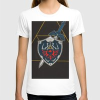 agents of shield T-shirts featuring Shield  by Jennifer Dillon