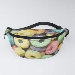 Rainbow Fruit Ring Cereal Photo Fanny Pack
