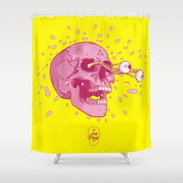 Explode!!! Shower Curtain