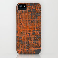 Indianapolis map Slim Case iPhone (5, 5s)
