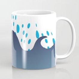 Bubbles in the Sea by FreddiJr Coffee Mug