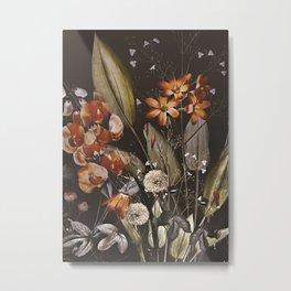 Night Garden Metal Print