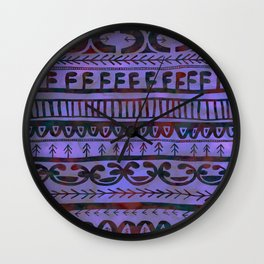 Noni- Purple Wall Clock