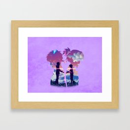 Kimi no na Wa (Your Name) Framed Art Print