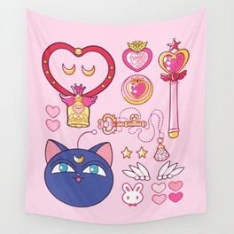 Small Lady Starter Kit  Wall Tapestry
