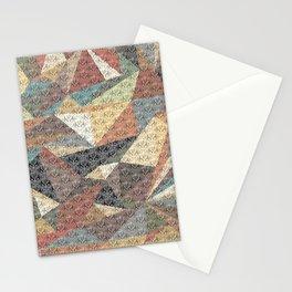 Tri-wangles  Stationery Cards