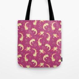Relaxolotl - Rose Pink Tote Bag