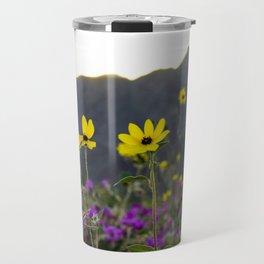 Wildflower Sunset Travel Mug