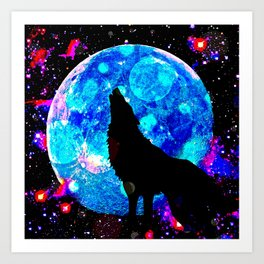Wolf #1 Art Print