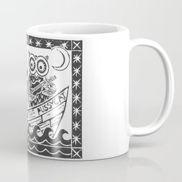 The Owl And The Pussycat (white background) Coffee Mug