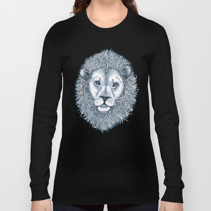 Blue Eyed Lion Long Sleeve T-shirt