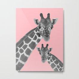 Giraffe 2 Metal Print