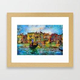 Venice - Signed Framed Art Print