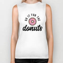Do It For The Donuts v2 Biker Tank