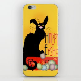 Le Chat Noir - Easter iPhone Skin