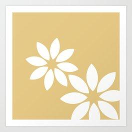 Flora2 Art Print