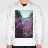 yosemite Hoodies featuring Yosemite by Richard PJ Lambert