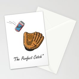 The perfect catch Stationery Cards